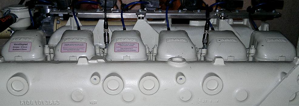 Akustische Zustandsüberwachung von BHKW Motoren