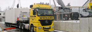 Anlieferung BHKW Cotesa GmbH