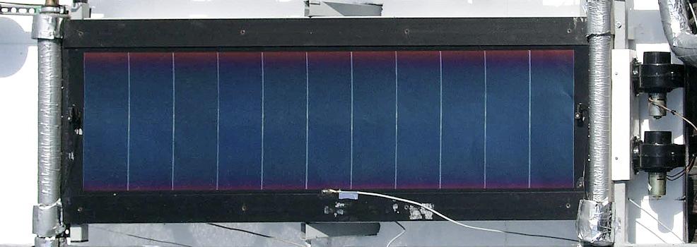 Entwicklung eines hybriden Solarsystems