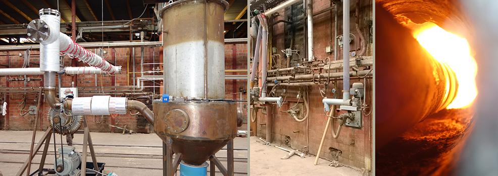CO2-neutrales Brennen von grobkeramischen Erzeugnissen
