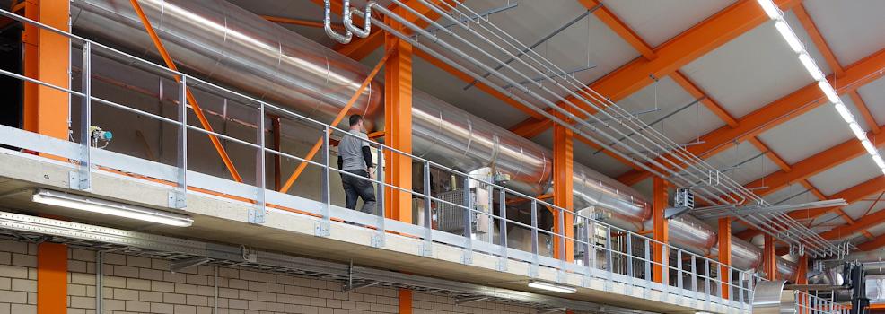 Wärmerückgewinnungsanlage Tona Tonwerke GmbH